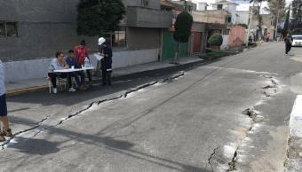 Semana entrante se dará a conocer estudio sobre grietas en Tláhuac