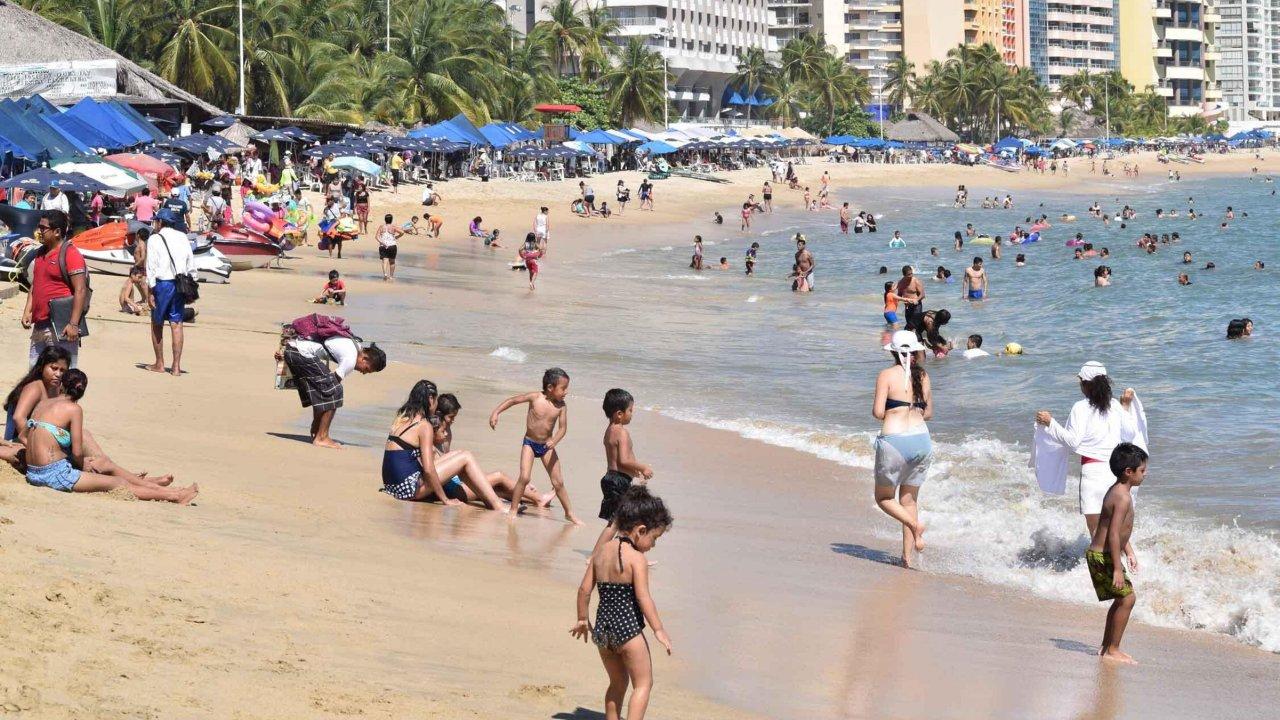 Guerrero tiene el tercer lugar nacional en recepción de turistas