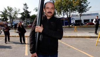 Héctor Quiroz García, líder del Partido del Trabajo en Aguascalientes