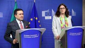 México y la UE esperan cerrar acuerdo comercial este 2017