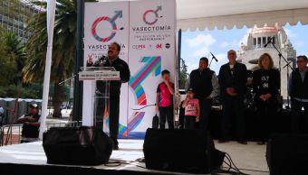 conmemoran dia mundial vasectomia cdmx monumento