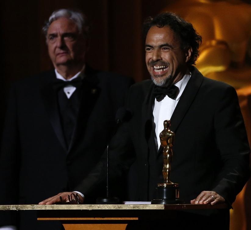 Iñárritu recibe Oscar especial por Carne y Arena