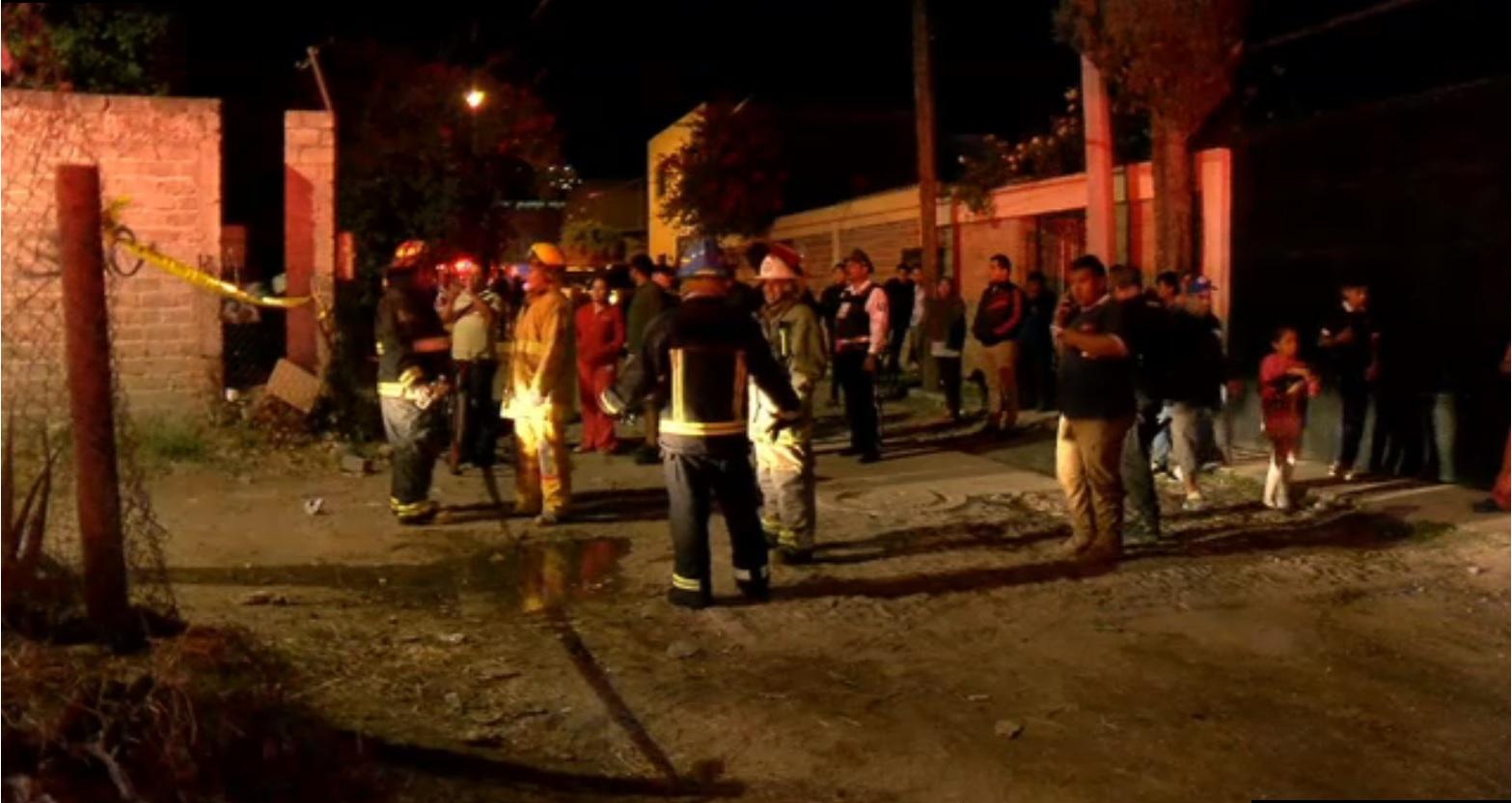 bomberos controlan incendio de combustible en zapopan