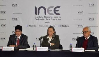 inee jovenes secundaria mexicanos abajo media internacional educacion civica