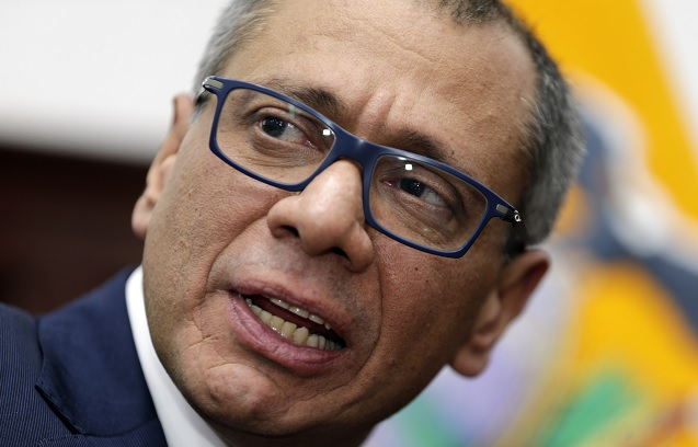 Vicepresidente Ecuador enfrentará juicio caso Odebrecht