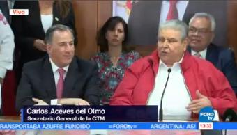 José Antonio Meade Reúne Representantes Ctm