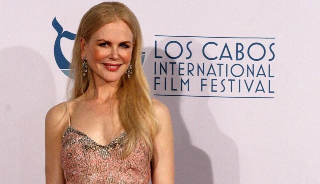 Homenajean a Nicole Kidman en Festival de Cine de Los Cabos
