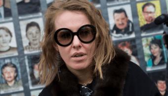Ksenia Sobchak, candidata presidencial en Rusia