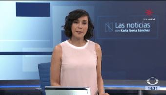 La Noticias, con Karla Iberia Programa del 15 de diciembre de 2017