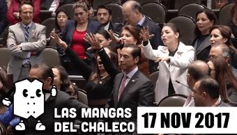 """Las Mangas del Chaleco Goteras VIP y el """"¡Eh bruto!"""" de diputados"""