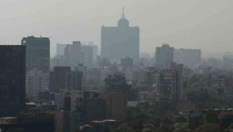 Se registra mala calidad del aire en el Valle de México