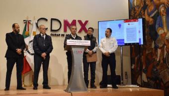 Mancera anuncia integración de la alerta sísmica a la aplicación móvil 911