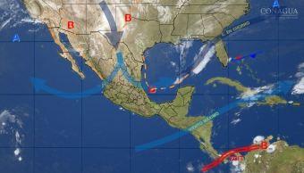 Mapa con el pronóstico del clima para este 21 de noviembre; prevén ambiente estable y seco en la mayor parte de México (SMN)