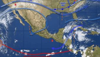 Mapa de fenómenos meteorológicos del 13 de noviembre