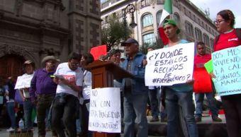 damnificados sismos marcha protesta cdmx creditos