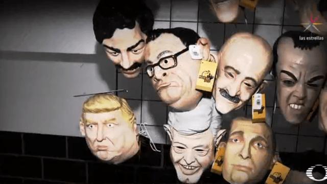 Máscaras de Halloween hechas en Morelos