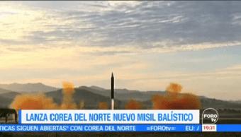 Misil Norcoreano Paz Mundo Peligro Jefe Del Pentágono James Mattis