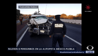 Mueren Once Peregrinos Accidentes Madrugada
