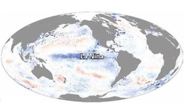 niña probabilidad presentarse invierno fenomeno meteorologico