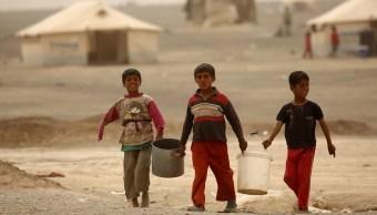 Los niños de siria piden agua, comida y escuelas, según Unicef