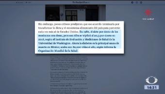 Nyt Tlcan Ocasionó Obesidad México The New York Times