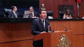 Reconoce Osorio Chong compleja situación en materia de seguridad