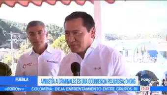 Osorio Chong Responde Posible Amnistía Amlo