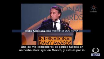 Otorgan Reconocimiento Señor Emilio Azcárraga Ny