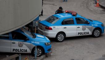 Patrullas de la Policía de Brasil en Río de Janeiro