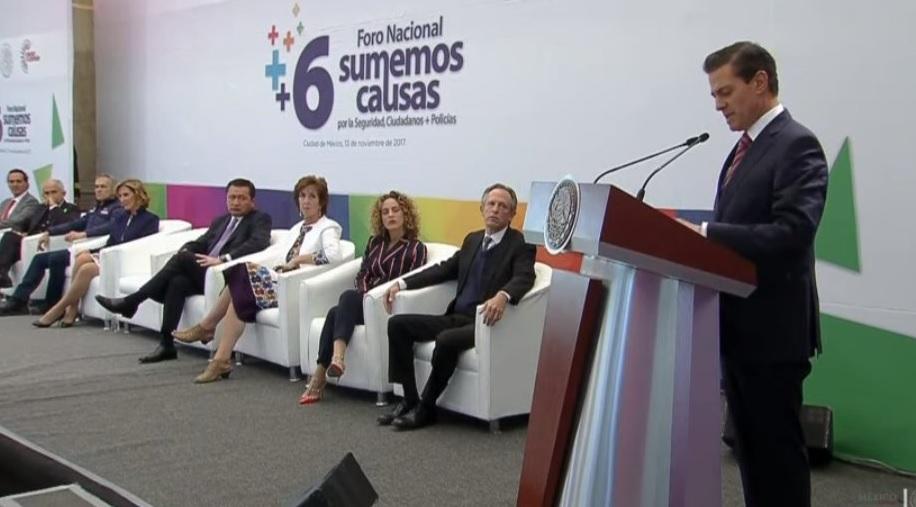 Critica EPN bullying a las corporaciones de seguridad