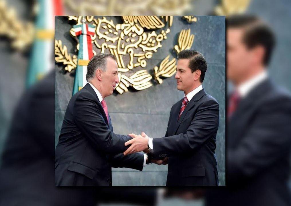 Peña Nieto acepta renuncia de Meade de Hacienda, lo sustituye González Anaya (Presidencia de la República)