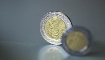 Peso mexicano avanza a su mejor nivel en dos semanas