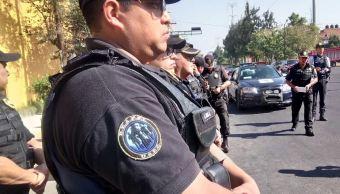 Más 98 mil 400 policías vigilarán la CDMX este fin de semana