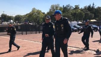 CDMX despliega 5 mil policías por eventos de este fin de semana