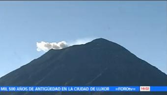 Volcán Popocatépetl Suma 309 Exhalaciones Últimas Horas