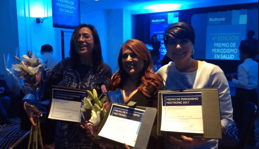 reconocen forotv premio periodismo salud medtronic