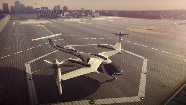 NASA y Uber planean que en 2020 taxis aéreos sean una realidad