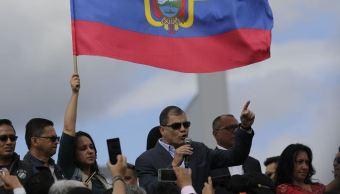 expresidente rafael correa regresa ecuador