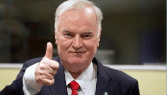 Ratko Mladic, exmilitar serbobosnio acusado de genocidio