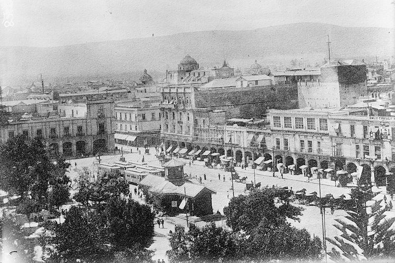 Ciudad de México 1910, Revolución Mexicana, Foto