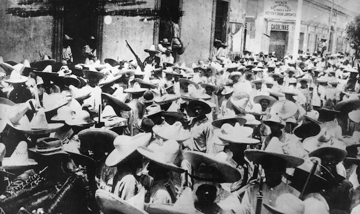 Revolucionarios en Sinaloa, el 1 de noviembre de 1913
