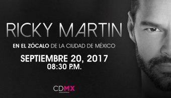 Ricky Martin Zócalo: Guía FOROtv de fin de semana