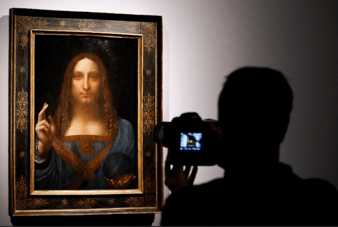'Salvator Mundi', de Leonardo da Vinci. (AP)