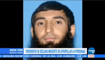 Sayfullo Saipov Declara Culpable Ataque NY Nueva York