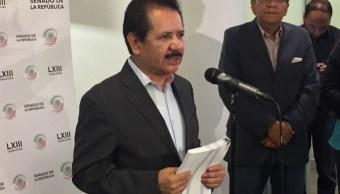 coordinador prd senado critica inseguridad mexico