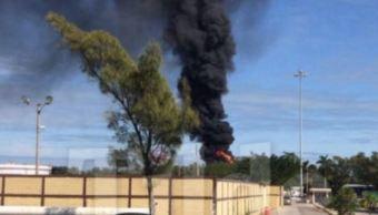Autotanques con combustible explotan en Tamaulipas