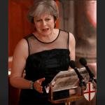 Theresa May, primera ministra británica. (Reuters)