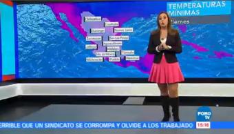 Tiempo Raquel Méndez Frente Frío No 11