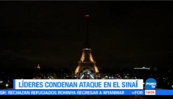 Torre Eiffel Apaga Luces Memoria Víctimas Egipto