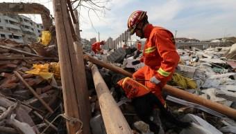 Explosión en China deja al menos dos muertos y 30 heridos